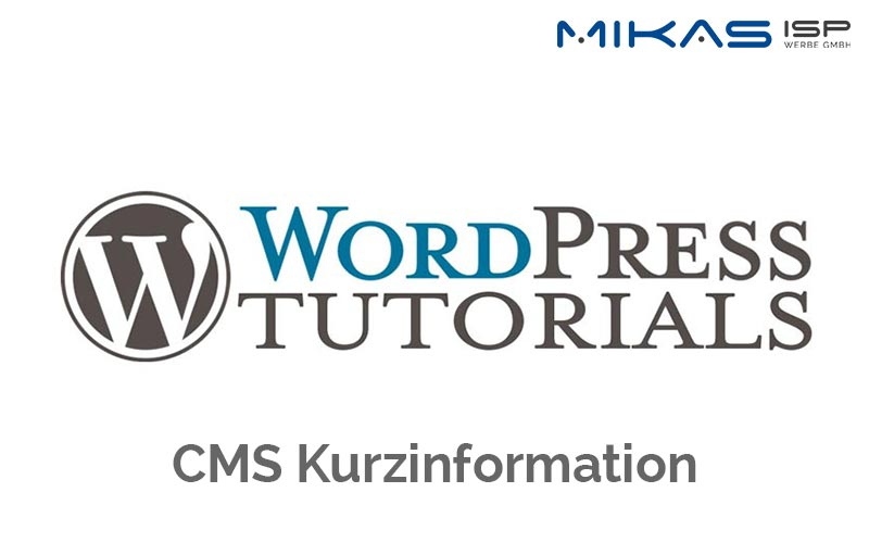WordPress CMS Kurzinformation