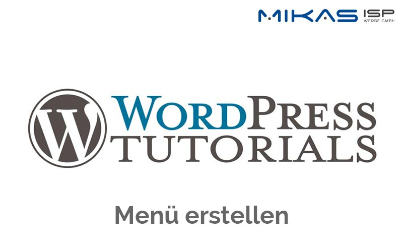 WordPress Navigation erstellen